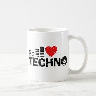 Amo Techno Taza De Café