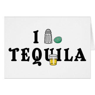 Amo Tequila Tarjeta De Felicitación