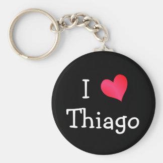 Amo Thiago Llavero Redondo Tipo Chapa