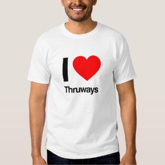 amo thruways camiseta