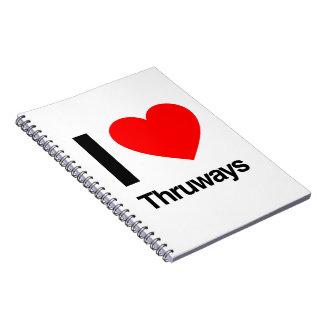 amo thruways libro de apuntes con espiral