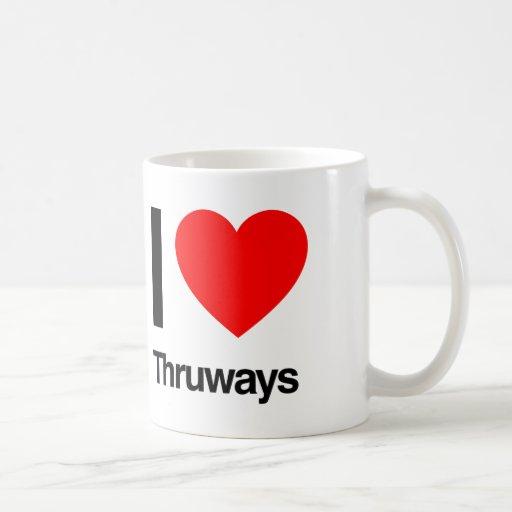 amo thruways tazas