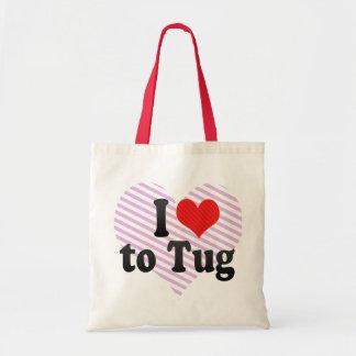 Amo tirar bolsas de mano