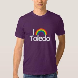 AMO TOLEDO GAY -- .png Camisetas