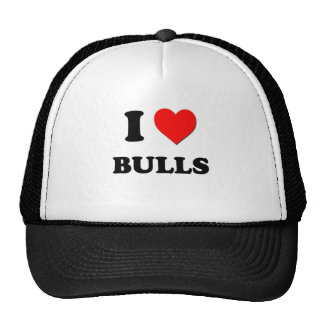 Amo toros gorro