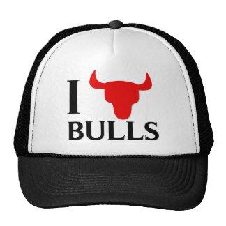Amo toros gorras