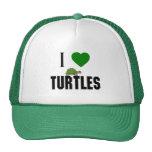 Amo tortugas gorro