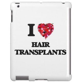 Amo trasplantes del pelo funda para iPad