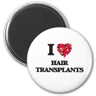 Amo trasplantes del pelo imán redondo 5 cm