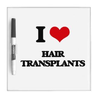 Amo trasplantes del pelo pizarras blancas de calidad