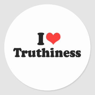 AMO TRUTHINESS png Etiquetas Redondas