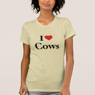 Amo vacas camisetas