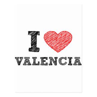 Amo Valencia Postal