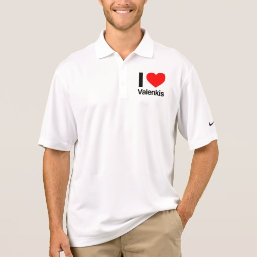 amo valenkis polo camiseta