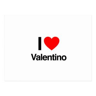 amo valentino tarjetas postales