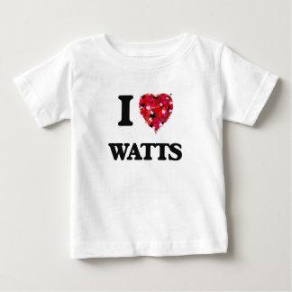 Amo vatios camiseta