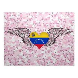 Amo Venezuela - alas Postal