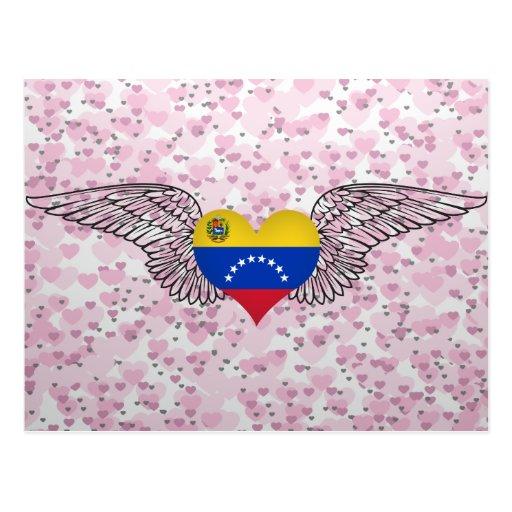 Amo Venezuela - alas Postales