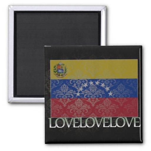 Amo Venezuela fresca Imán Para Frigorifico