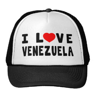 Amo Venezuela Gorras De Camionero