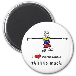 Amo VENEZUELA Imán De Nevera