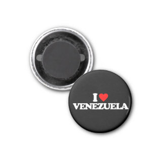 AMO VENEZUELA IMÁN REDONDO 3 CM
