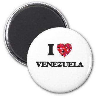 Amo Venezuela Imán Redondo 5 Cm