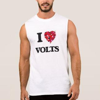 Amo voltios camiseta sin mangas