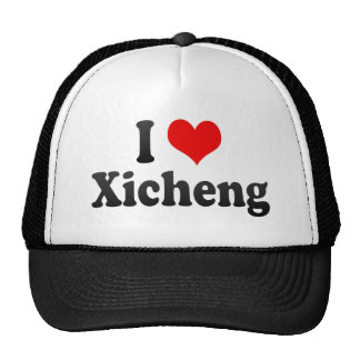 Amo Xicheng, China. Wo Ai Xicheng, China Gorras
