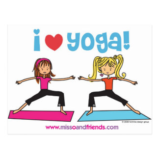 amo yoga postales