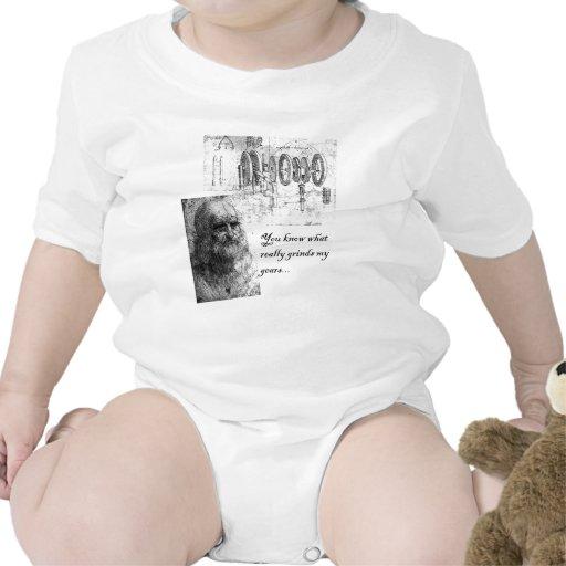 Amoladora del engranaje traje de bebé