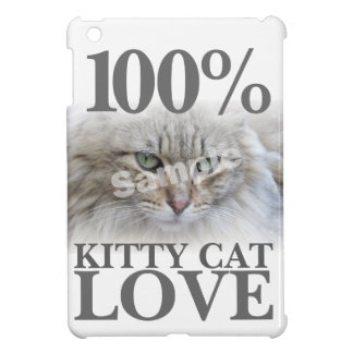 Amor 100% del gato del gatito de la foto de la