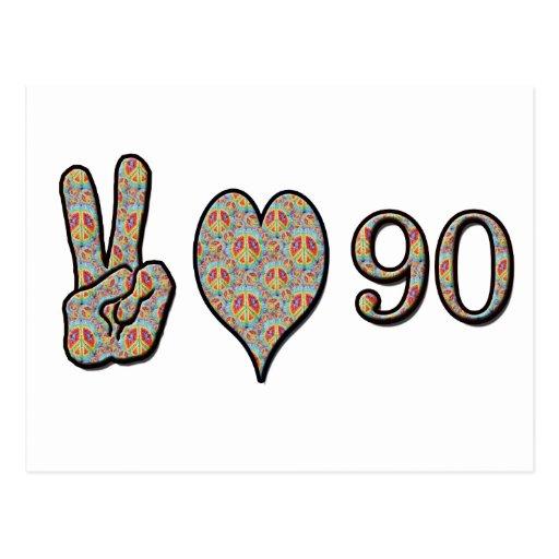 Amor 90 de la paz postal
