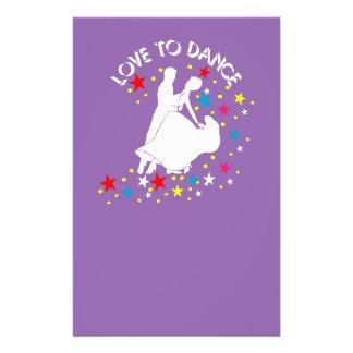Amor a bailar folleto 14 x 21,6 cm