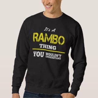 Amor a ser camiseta de RAMBO