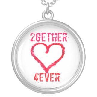 amor adolescente de 2gether 4ever el día de San Va Colgante Redondo