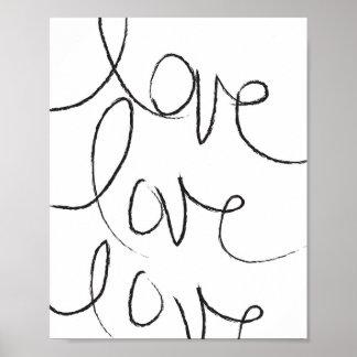 Amor, amor, amor - poster póster