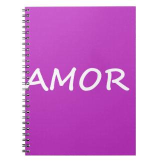 Amor, amor español cuaderno