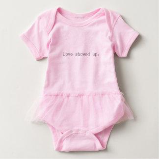 Amor aparecido el mameluco del bebé con el tutú