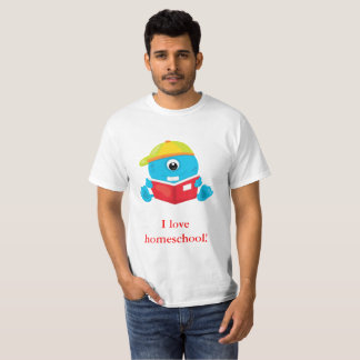 Amor azul Homeschool del monstruo I Camiseta