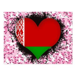 Amor Bielorrusia del vintage I Postal