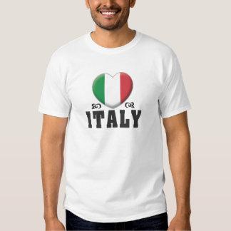 Amor C de Italia Camiseta