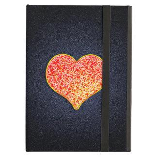 AMOR - caja rosada del aire del iPad del oro sin