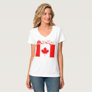 Amor Canadá de las camisetas diseñado