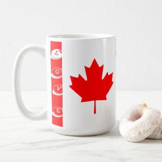 AMOR CANADÁ de las tazas de café