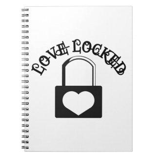 Amor cerrado cuadernos