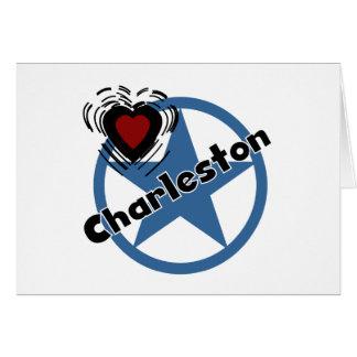 Amor Charleston Tarjeton