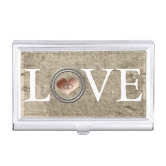 Amor-Con este anillo de Shirley Taylor Caja De Tarjetas De Negocios