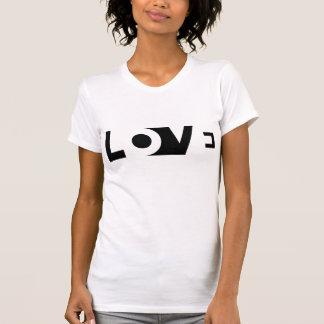 Amor cortado camiseta