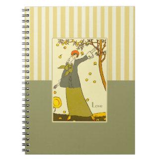 Amor. Cuaderno del regalo del el día de San Valent